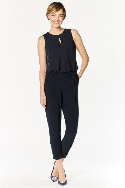 online store caace fe63a Vera Mont Jumpsuit Damen, elegant, blau