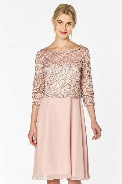 Vera Mont Cocktailkleid Damen, elegant, rosa ...